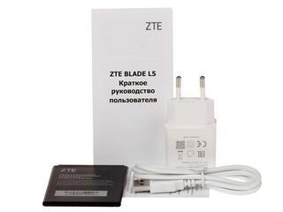 """5"""" Смартфон ZTE Blade L5 8 Гб белый"""