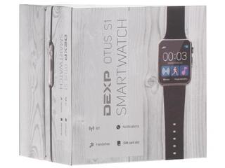 Смарт-часы DEXP Otus S1 черный