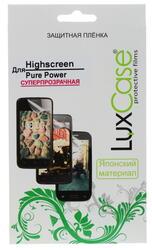"""5""""  Пленка защитная для смартфона Highscreen Pure Power"""