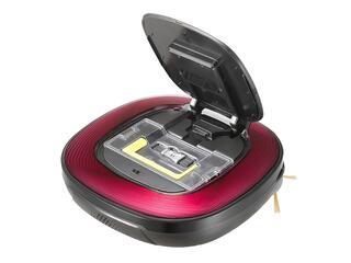 Пылесос-робот LG VR64701LVMP красный