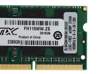 Оперативная память SODIMM CRUCIAL Ballistix Sport [BLS4G3N169ES4CEU] 4 ГБ