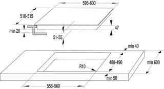 Электрическая варочная поверхность Gorenje ECT 6 SY2W