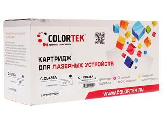 Картридж лазерный Colortek CB435A