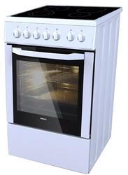 Электрическая плита BEKO CSE 57100 GW серебристый