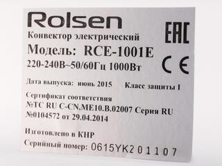 Конвектор Rolsen RCE-1001E