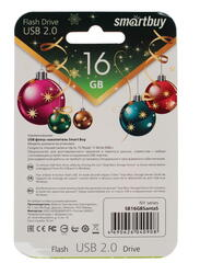 Память USB Flash Smartbuy NY series Santa-S 16 Гб