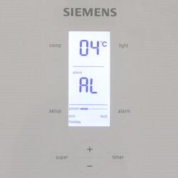 Холодильник с морозильником SIEMENS KG49NSW21R белый