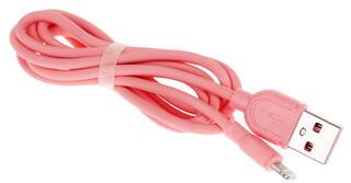Кабель Remax Souffle  Lightning 8-pin - USB розовый