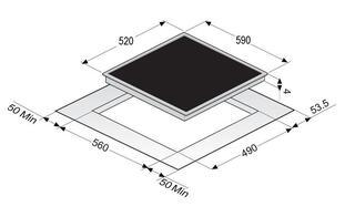 Электрическая варочная поверхность Zigmund & Shtain CIS 028.60 BX