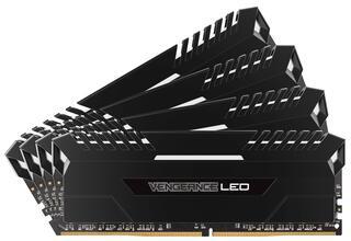 Оперативная память Corsair Vengeance LED [CMU64GX4M4C3200C16] 64 ГБ