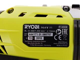 Шуруповерт Ryobi R14DDE-LL15S
