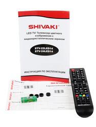 "24"" (60 см)  LED-телевизор Shivaki STV-24LED14 серый"