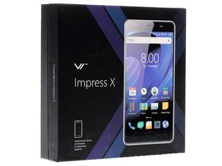 """5"""" Смартфон Vertex Impress X 8 ГБ черный"""