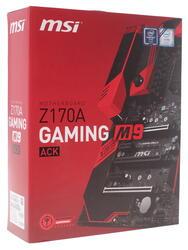 Материнская плата MSI  Z170A GAMING M9 ACK
