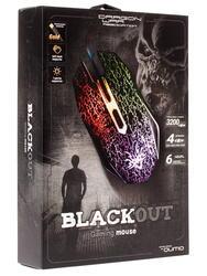 Мышь проводная Qumo  Dragon War BlackOut