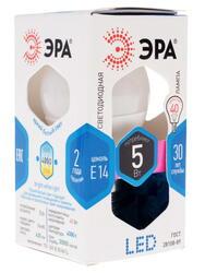Лампа светодиодная ЭРА LED smd P45-5w-840-E14