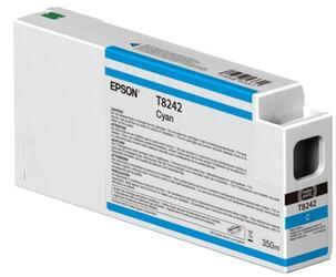 Картридж Epson T8242 повышенной емкости для SureColor SC-P6000/P7000/P7000V/P8000/P9000/P9000V (Голубой)