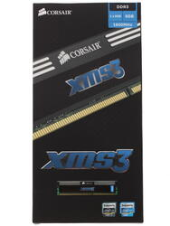 Оперативная память Corsair XMS3 [CMX8GX3M1A1600C11] 8 Гб