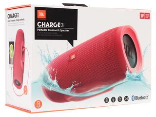 Портативная колонка JBL Charge 3 красный