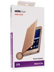 Чехол-книжка  NEW CASE для смартфона ZTE Blade V7 lite