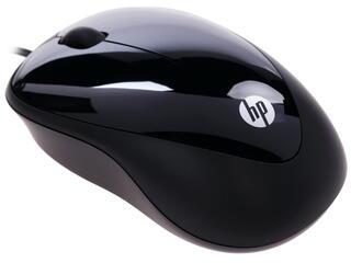 Мышь проводная HP Mouse X1000 черный