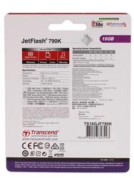 Память USB Flash Transcend JetFlash 790K 16 Гб