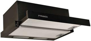 Вытяжка встраиваемая Pyramida TL 60 BLACK/N черный