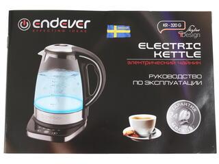 Электрочайник Endever Skyline KR-320G черный