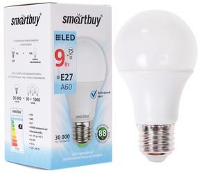 Лампа светодиодная Smartbuy SBL-A60-09-40K-E27-N