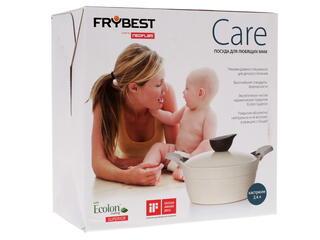 Кастрюля Frybest Care-C20 Care бежевый