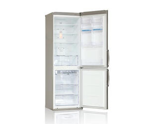 Холодильник с морозильником LG GA-B409ULQA серебристый