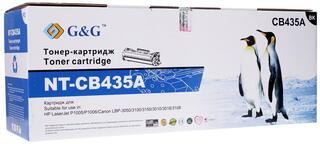 Картридж лазерный G&G NT-CB435