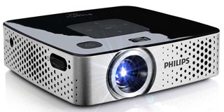Карманный проектор Philips PPX-3417W черный