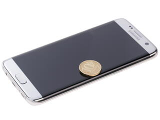 "5.5"" Смартфон Samsung SM-G935F Galaxy S7 edge 32 ГБ серебристый"