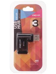 USB-разветвитель DEXP BT3-02