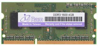 Оперативная память SODIMM J Ram [JRS4G1600D3] 4 Гб