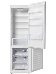 Холодильник с морозильником Candy CKBS 6200 W белый