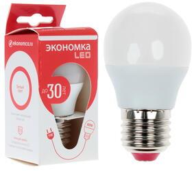 Лампа светодиодная Экономка LED 7W GL E2745
