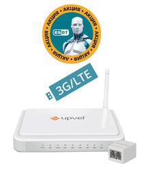 Маршрутизатор ADSL2+ UPVEL UR-344AN4G+
