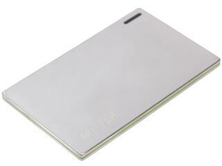 Портативный аккумулятор HIPER Power Bank SLIM2000 серебристый