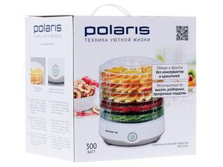 Сушилка для овощей и фруктов Polaris PFD 0705 серый, белый