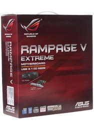 Материнская плата ASUS  RAMPAGE V EXTREME/U3.1