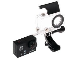 Экшн видеокамера X-TRY XTC200 черный