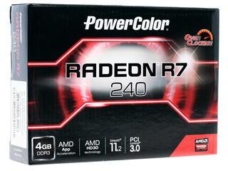 Видеокарта Powercolor AMD Radeon R7 240 OC [AXR7 240 4GBK3-HE/OC]