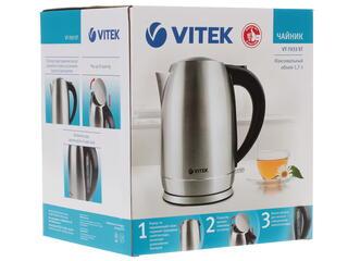 Электрочайник Vitek VT-7033 серебристый