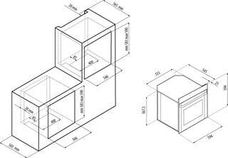 Электрический духовой шкаф Fornelli FEA 60 MODERNITA WH