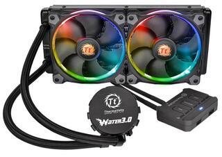 Система охлаждения Thermaltake Water 3.0 Riing RGB 240