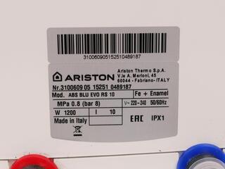 Водонагреватель Ariston ABS BLU EVO RS 10