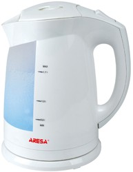 Электрочайник Aresa AR-3425 белый