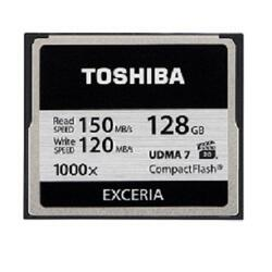 Карта памяти Toshiba EXCERIA Compact Flash 128 Гб